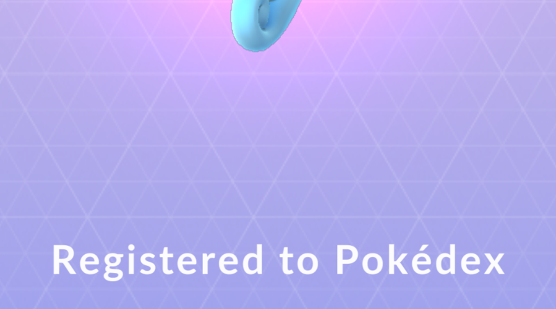 Pokemon Go -Horsea`