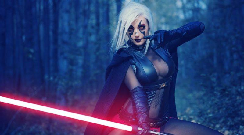 Jessica Nigri - Sith Lord Cosplay