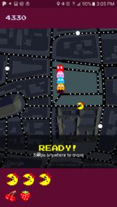 Google Maps - Ms. Pac Man - April Fools Day