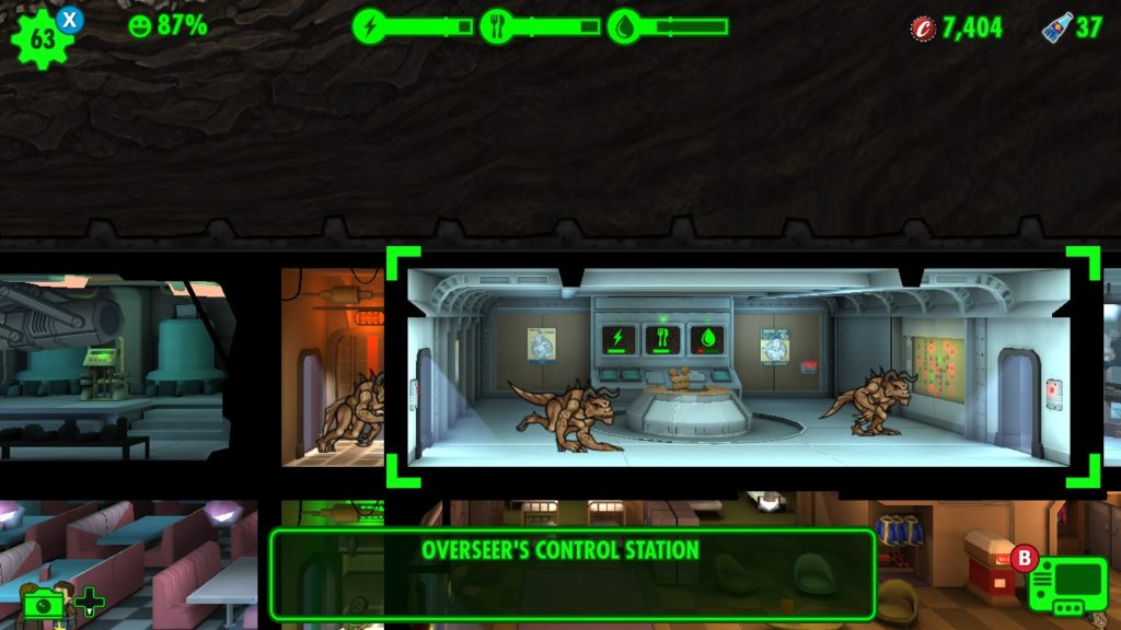 Deathclaw Attack - Fallout Shelter